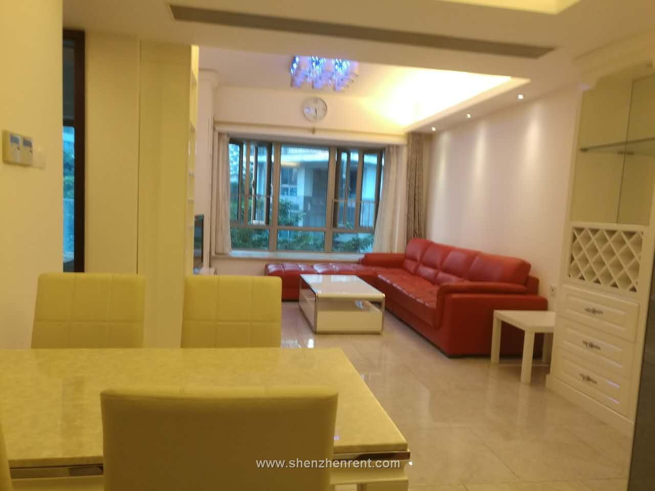 Cozy 2 bedrooms apartment in shekou mont orchid for rent