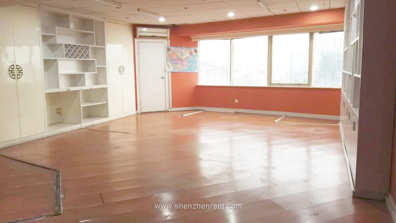 So cheap only 91per sqm 240sqm office in sea  world  shekou for rent