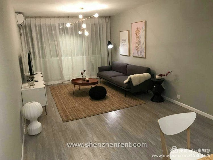 New decoration 2 bedrooms duplex in shekou for rent