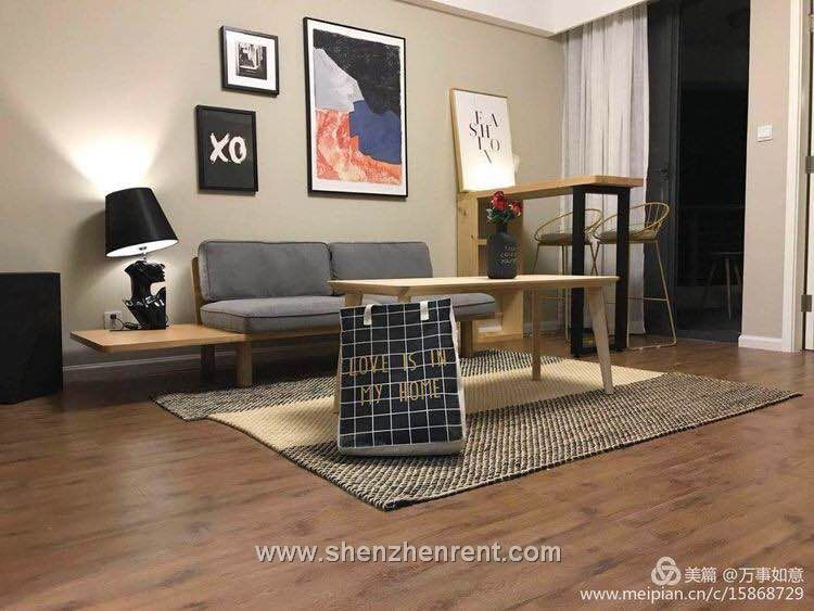New decoration 1 bedroom apartment in shekou  for rent