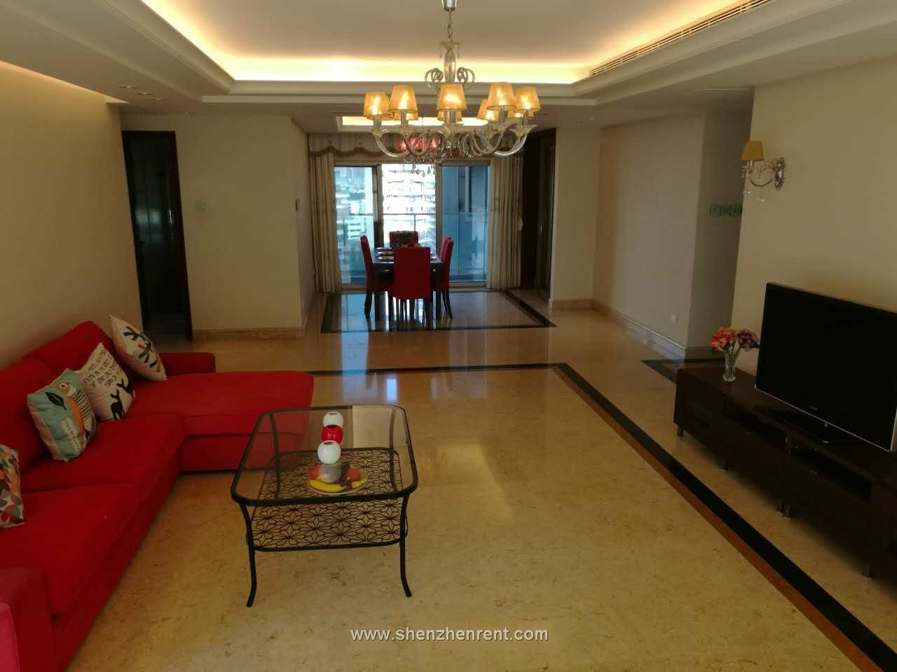 Nice 4 bedrooms apartment in shekou mont orchid for rent