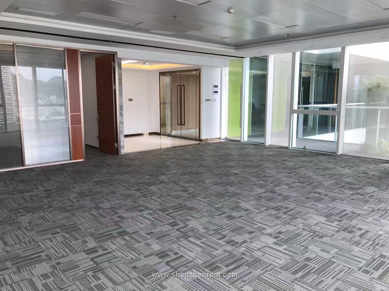 New decoration big size office in shekou  sea world for rent