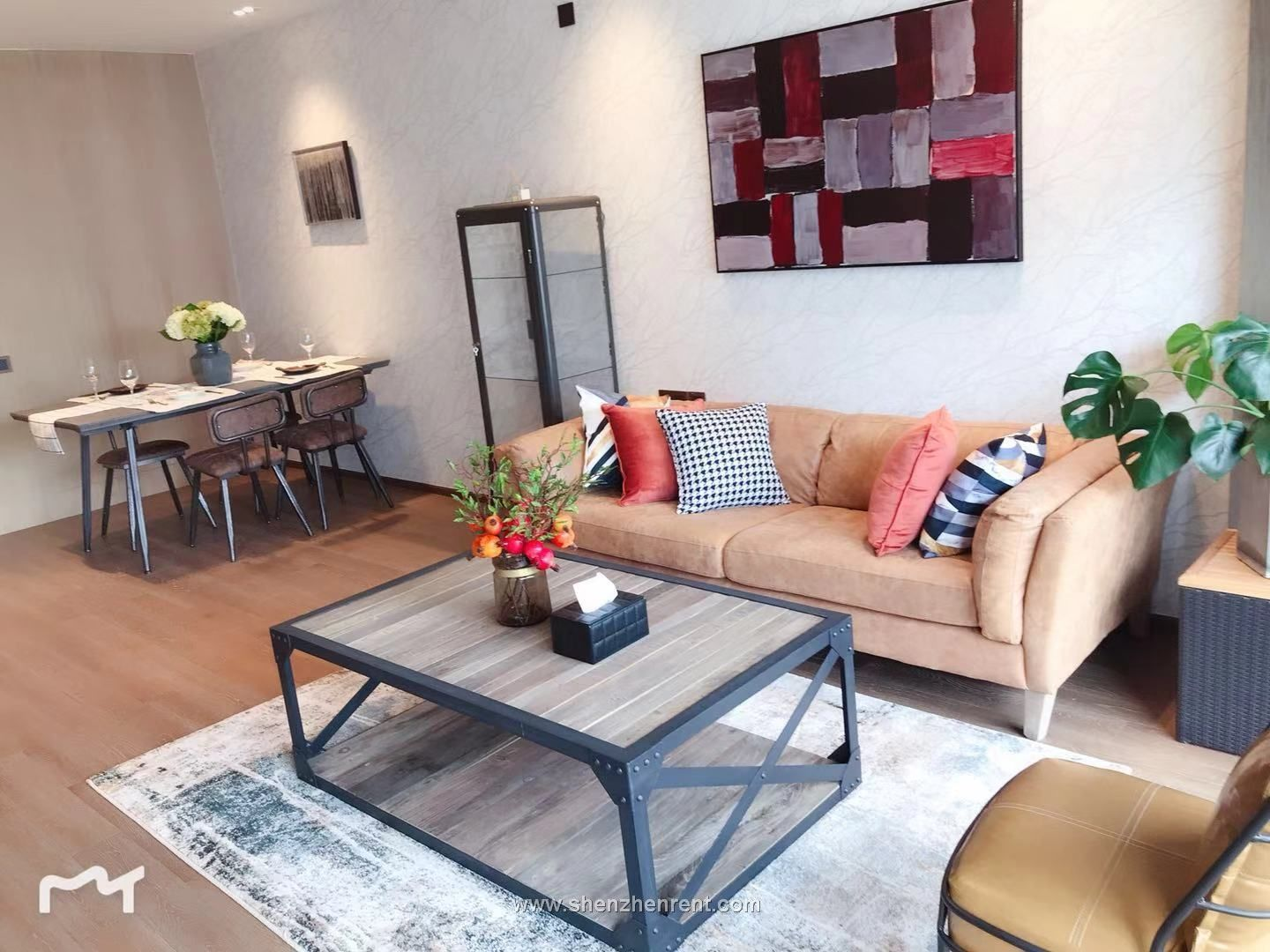 Luxurious 1 bedroom apartment in shekou for rent
