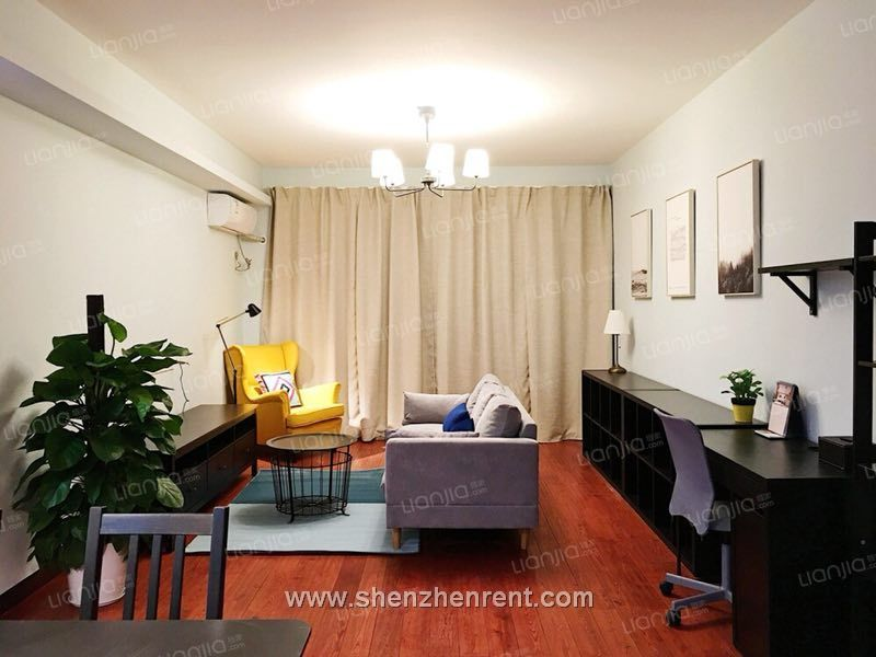 Modern style 2 bedrooms apartment in shekou rose garden for rent