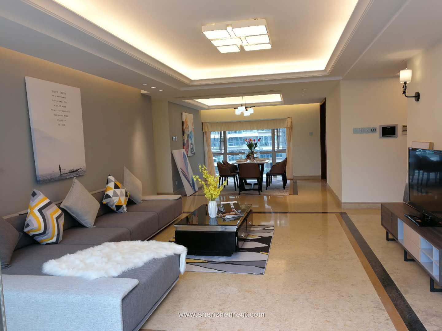 Newly renovated 4 bedrooms apartment in mont orchid for rent